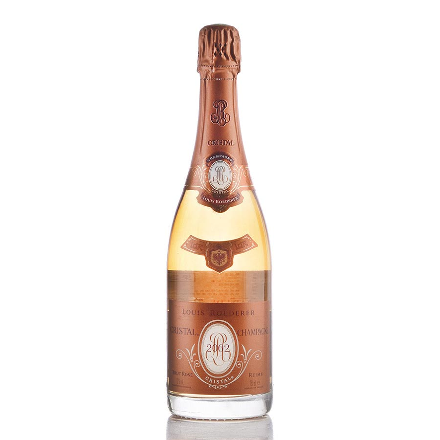 [2002] ルイ・ロデレール クリスタル ロゼ 【箱なし】フランス / シャンパーニュ / 発泡系・シャンパン