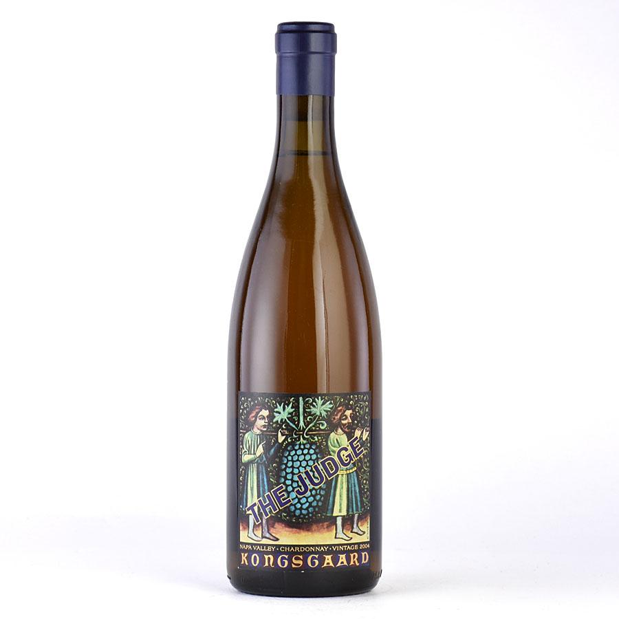 [2004] コングスガード シャルドネ ザ・ジャッジアメリカ / カリフォルニア / 白ワイン[のこり1本]