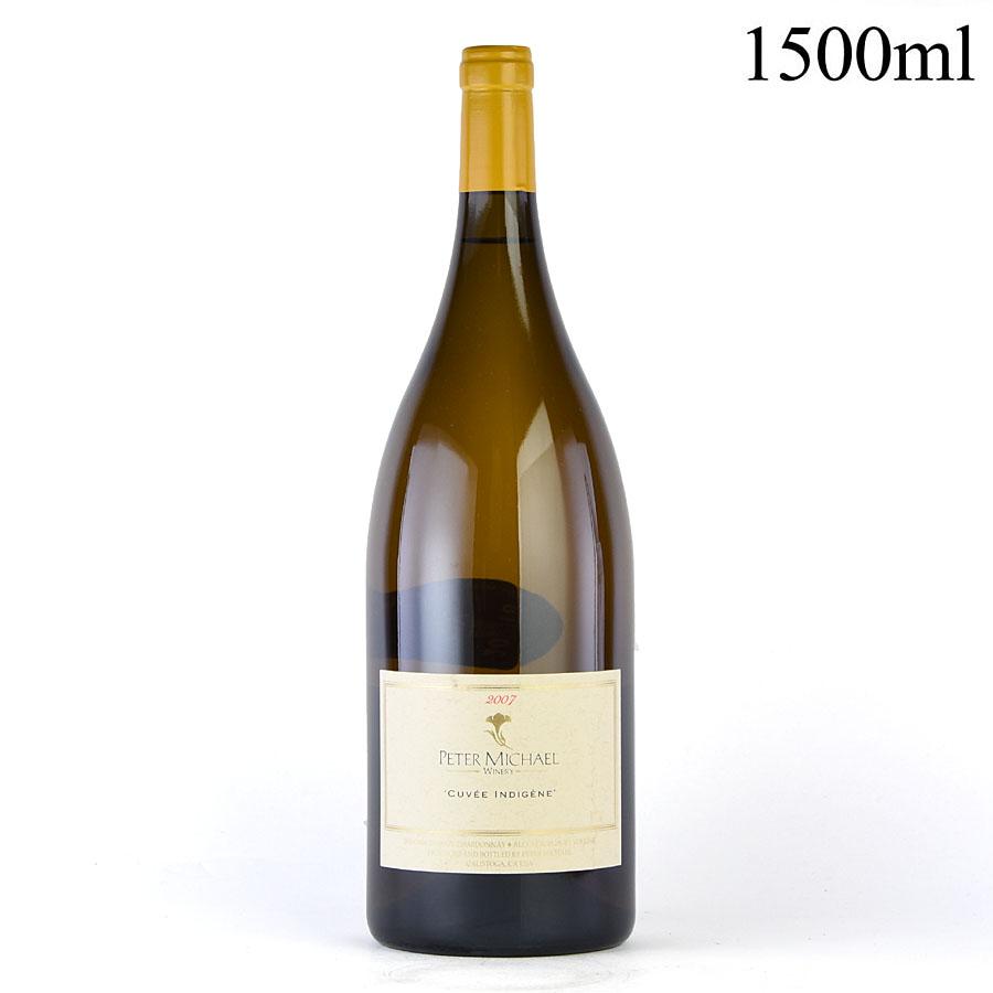 [2007] ピーター・マイケル シャルドネ キュヴェ・アンディジェーヌ マグナム 1500mlアメリカ / カリフォルニア / 白ワイン[のこり1本]