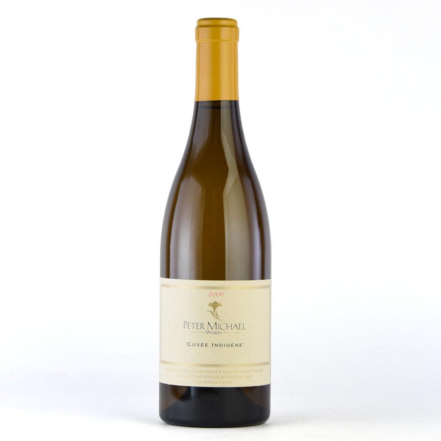 [2006] ピーター・マイケル シャルドネ キュヴェ・アンディジェーヌアメリカ / カリフォルニア / 白ワイン[のこり1本]