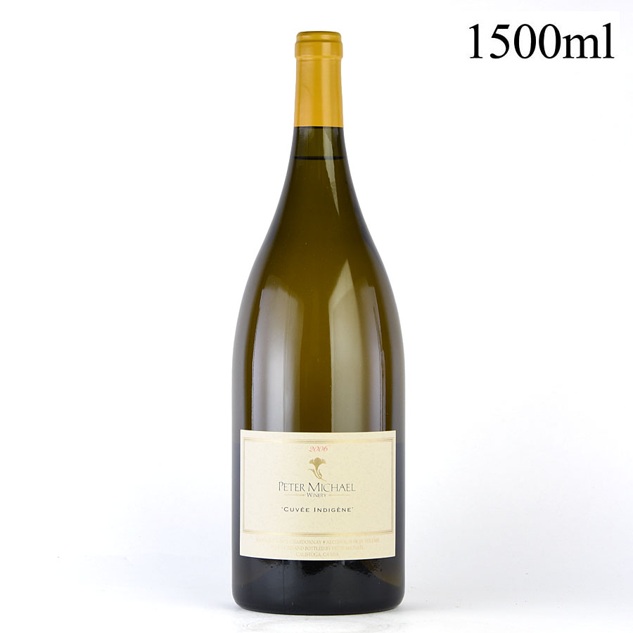 [2006] ピーター・マイケル シャルドネ キュヴェ・アンディジェーヌ マグナム 1500mlアメリカ / カリフォルニア / 白ワイン[のこり1本]