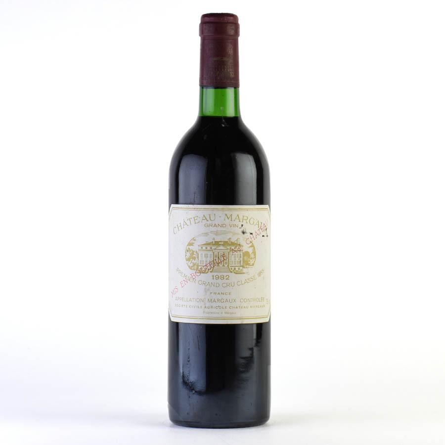 [1982] シャトー・マルゴー ※ラベル擦れ、キズフランス / ボルドー / 赤ワイン[のこり1本]