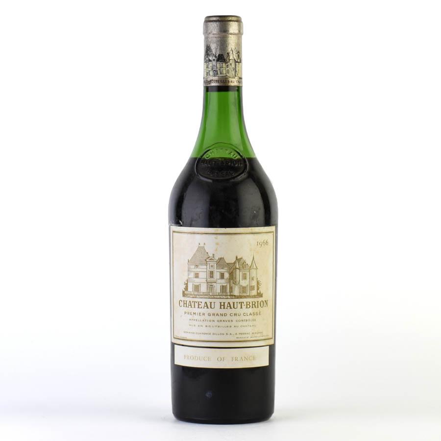 [1966] シャトー・オー・ブリオン ※ラベル汚れ、コルク下がりフランス / ボルドー / 赤ワイン[outlet][のこり1本]