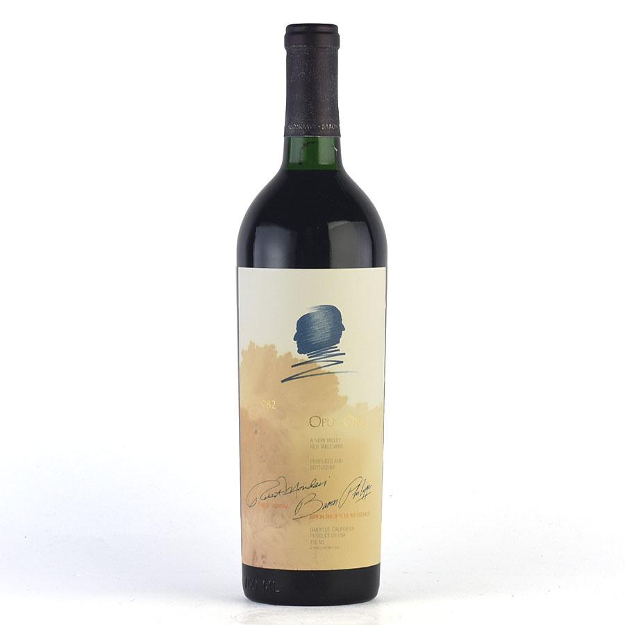 [1982] オーパス・ワン ※ラベル染み汚れ、キャップシール腐食アメリカ / カリフォルニア / 赤ワイン