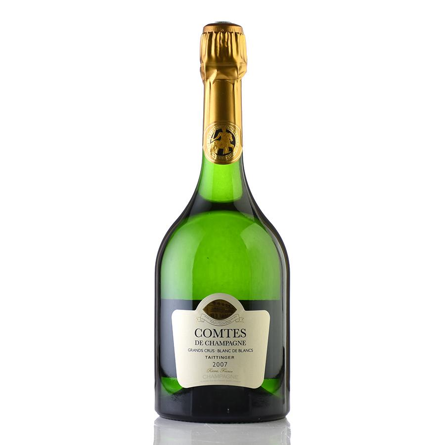 【最安に挑戦中】[2007] テタンジェコント・ド・シャンパーニュ ブラン・ド・ブランフランス / シャンパーニュ / 発泡系・シャンパン