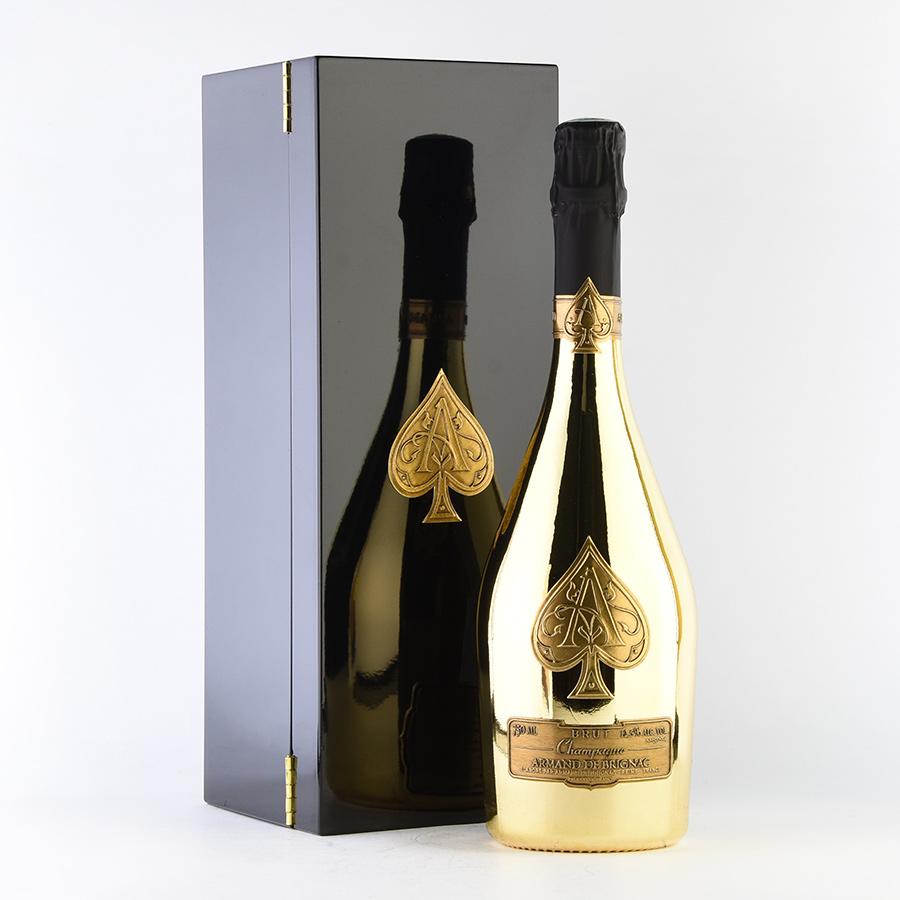 NV アルマン・ド・ブリニャックゴールド 【ギフトボックス】フランス / シャンパーニュ / 発泡系・シャンパン