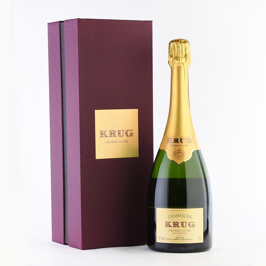 【最安に挑戦中】NV クリュッググランド・キュヴェ 【エディション166】 【ギフトボックス】フランス / シャンパーニュ / 発泡系・シャンパン