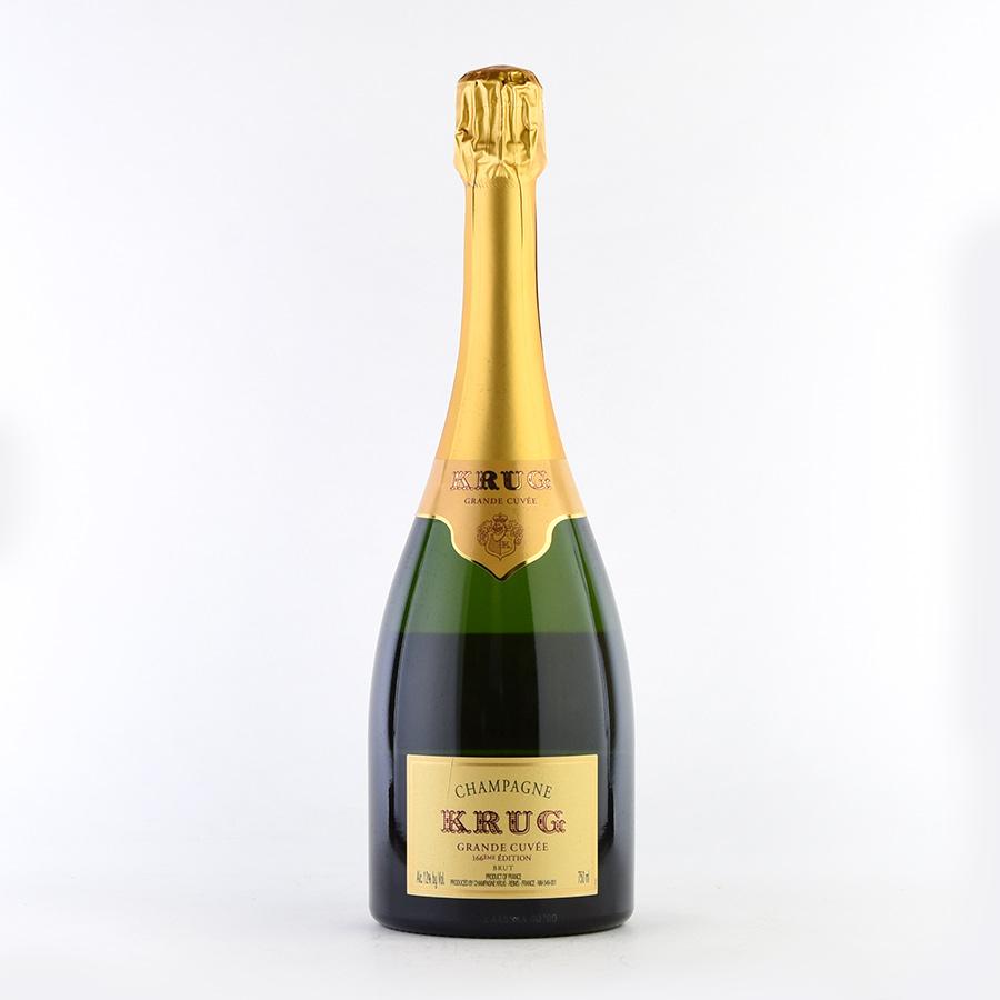【最安に挑戦中】NV クリュッググランド・キュヴェ 【エディション166】フランス / シャンパーニュ / 発泡系・シャンパン