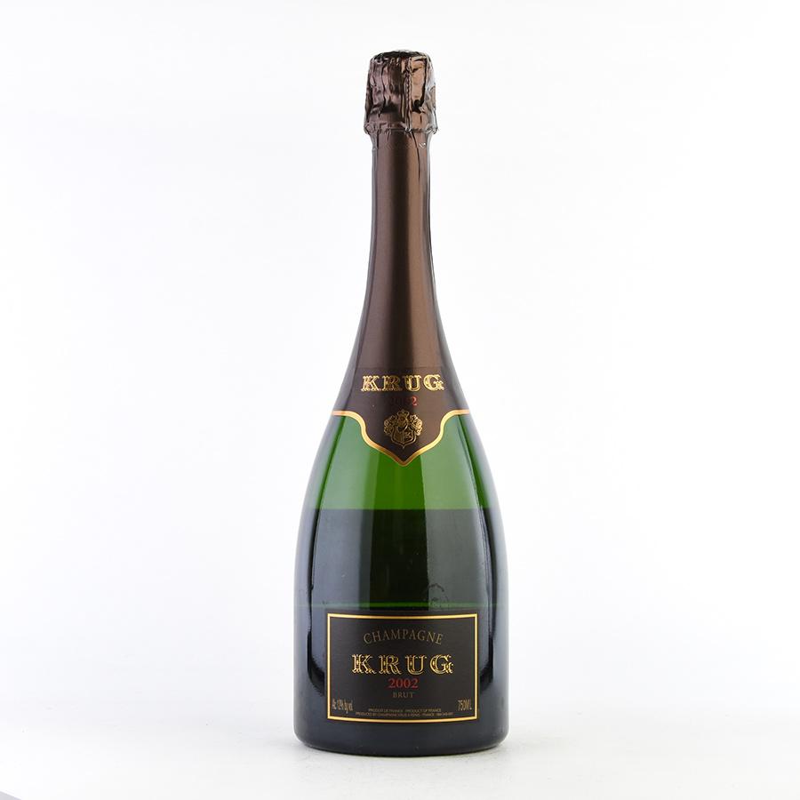 【新入荷★特別価格】[2002] クリュッグヴィンテージフランス / シャンパーニュ / 発泡系・シャンパン