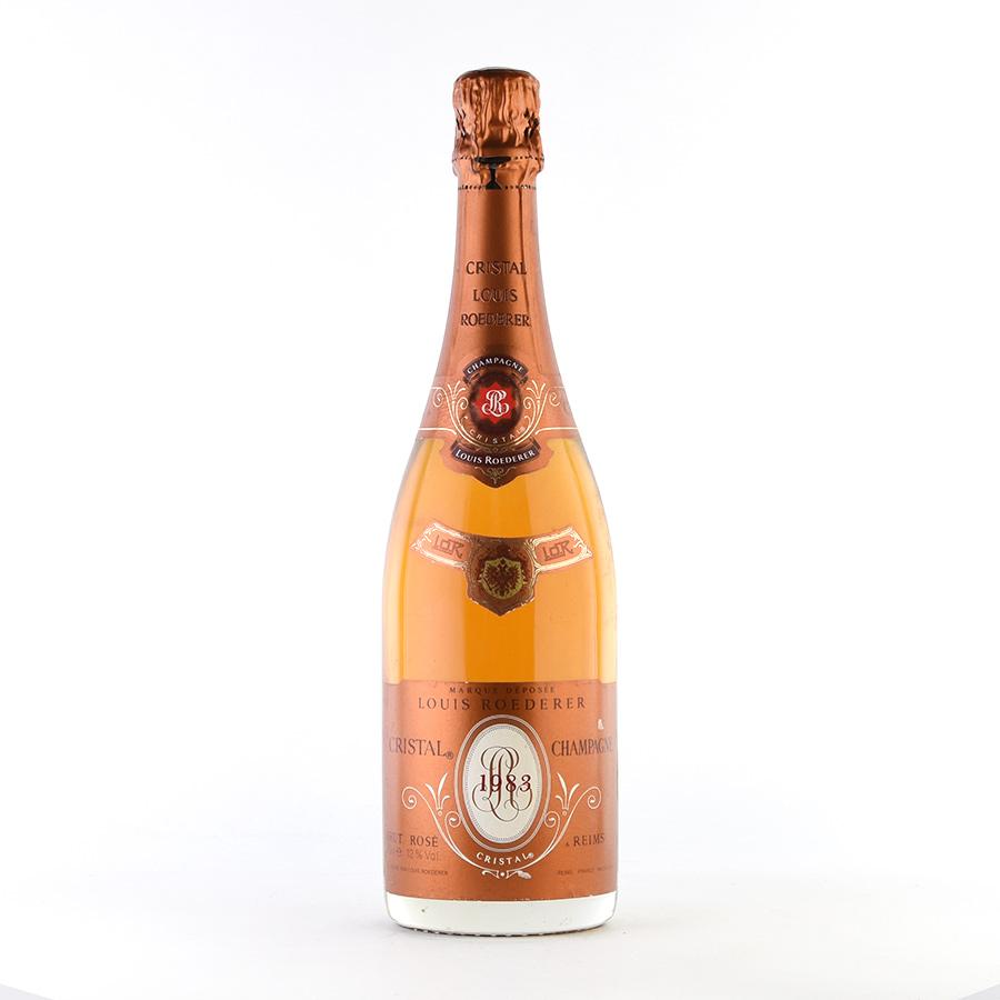 [1983] ルイ・ロデレールクリスタル・ロゼフランス / シャンパーニュ / 発泡系・シャンパン[のこり1本]