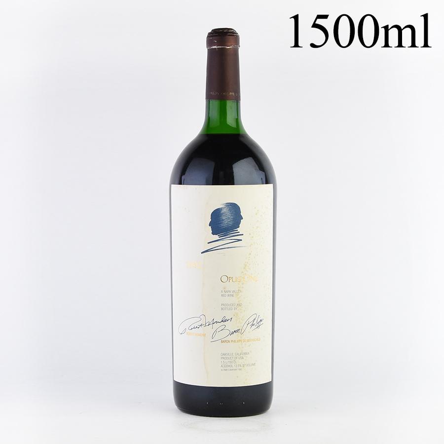 [1992] オーパス・ワン マグナム 1500ml※ラベル不良アメリカ / カリフォルニア / 赤ワイン[outlet][のこり1本]