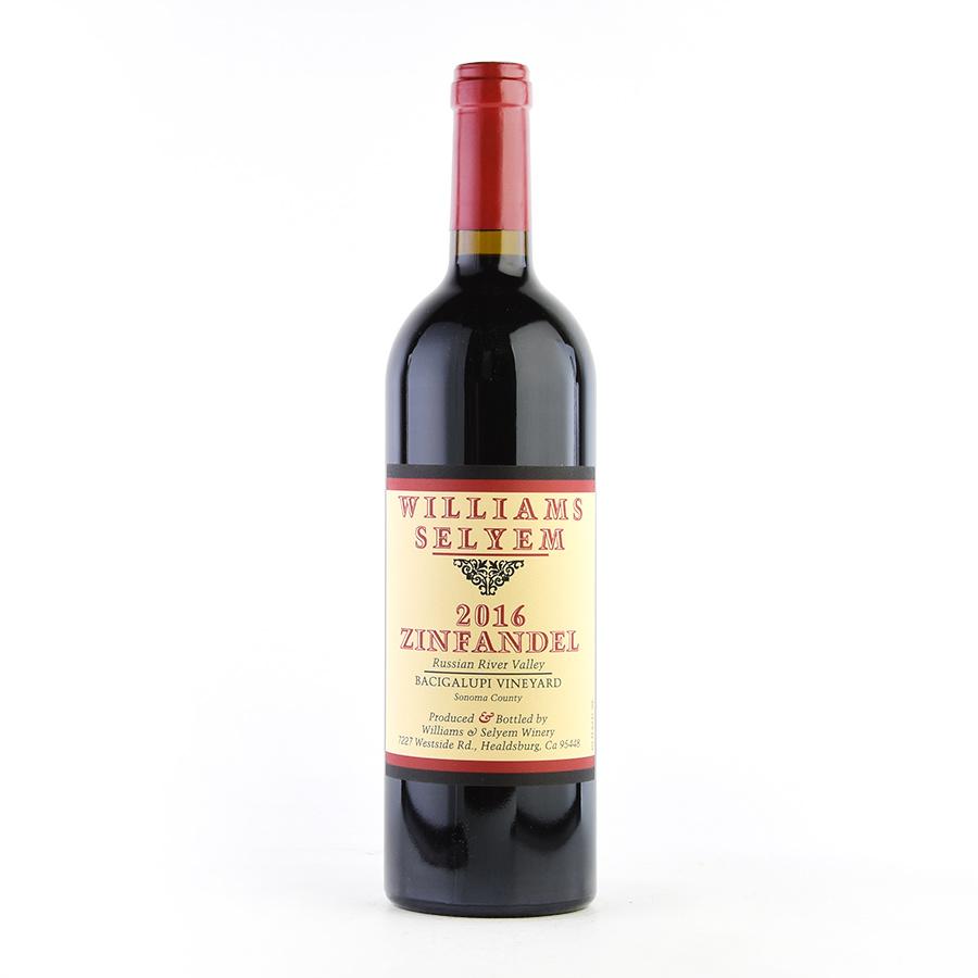 【新入荷★特別価格】[2016] ウィリアムズ・セリエムジンファンデル バチガルピ・ヴィンヤード【生産者蔵出し】アメリカ / カリフォルニア / 赤ワイン