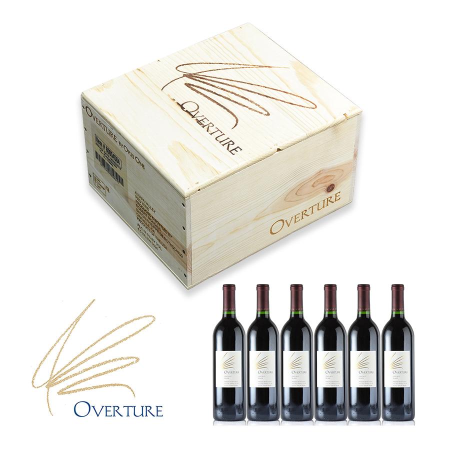 【最安に挑戦中】【送料無料】オーバーチュア【オーヴァーチュア】 6本 Overture NV 【6本木箱入り】【ワインセット】オーパス・ワンアメリカ / カリフォルニア / 赤ワイン