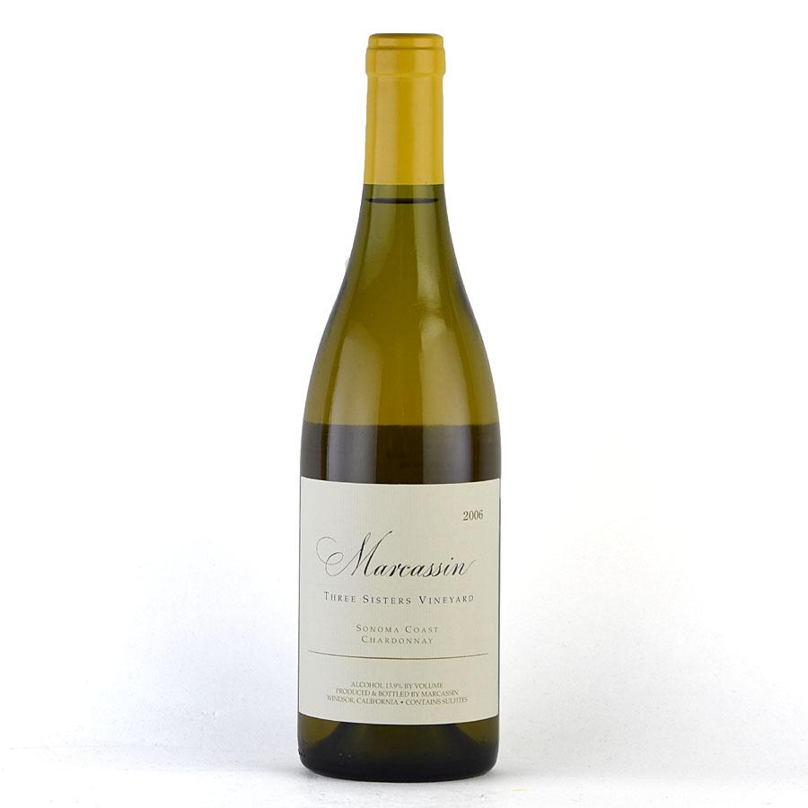 [2006] シャルドネ スリー・シスターズ・ヴィンヤードマーカッシン 750mlChardonnay Three Sisters Vineyard Marcassinアメリカ / カリフォルニア / 白ワイン