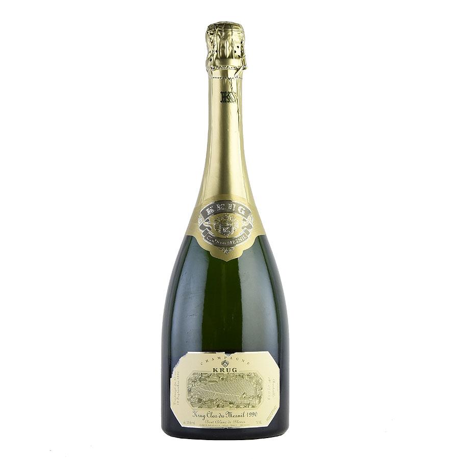 [1990] クリュッグ クロ・デュ・メニル 【箱なし】フランス / シャンパーニュ / 発泡・シャンパン