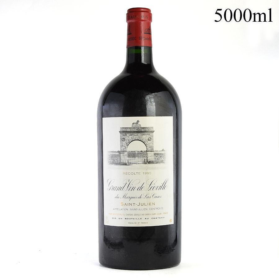 [1995] シャトー・レオヴィル・ラス・カーズ 5000mlフランス / ボルドー / 赤ワイン