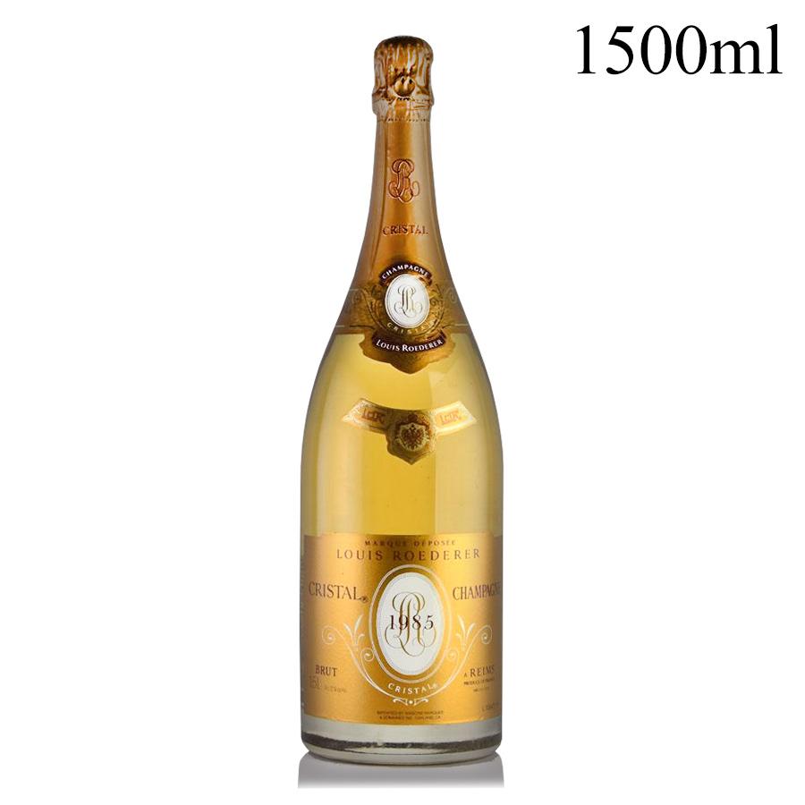[1985] ルイ・ロデレール クリスタル マグナム 1500mlフランス / シャンパーニュ / 発泡・シャンパン