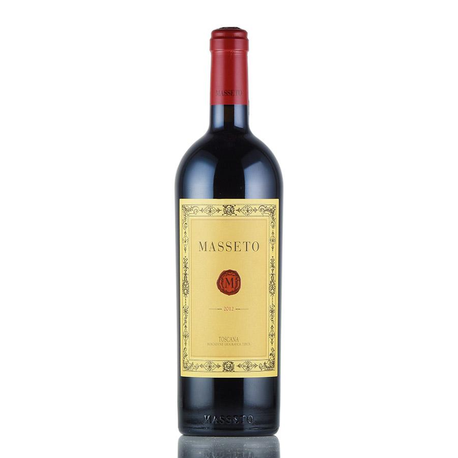 [2012] マセト【マッセート】イタリア / トスカーナ / 赤ワイン[のこり1本]