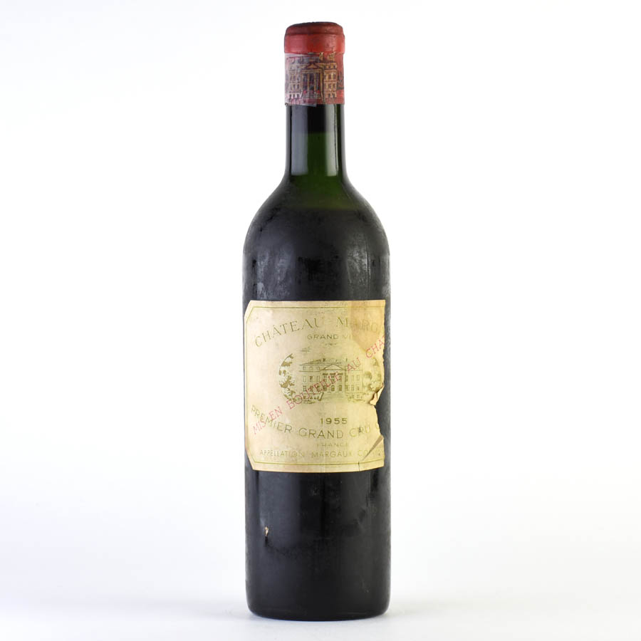 [1955] シャトー・マルゴー ※ラベル不良フランス / ボルドー / 赤ワイン[outlet][のこり1本]