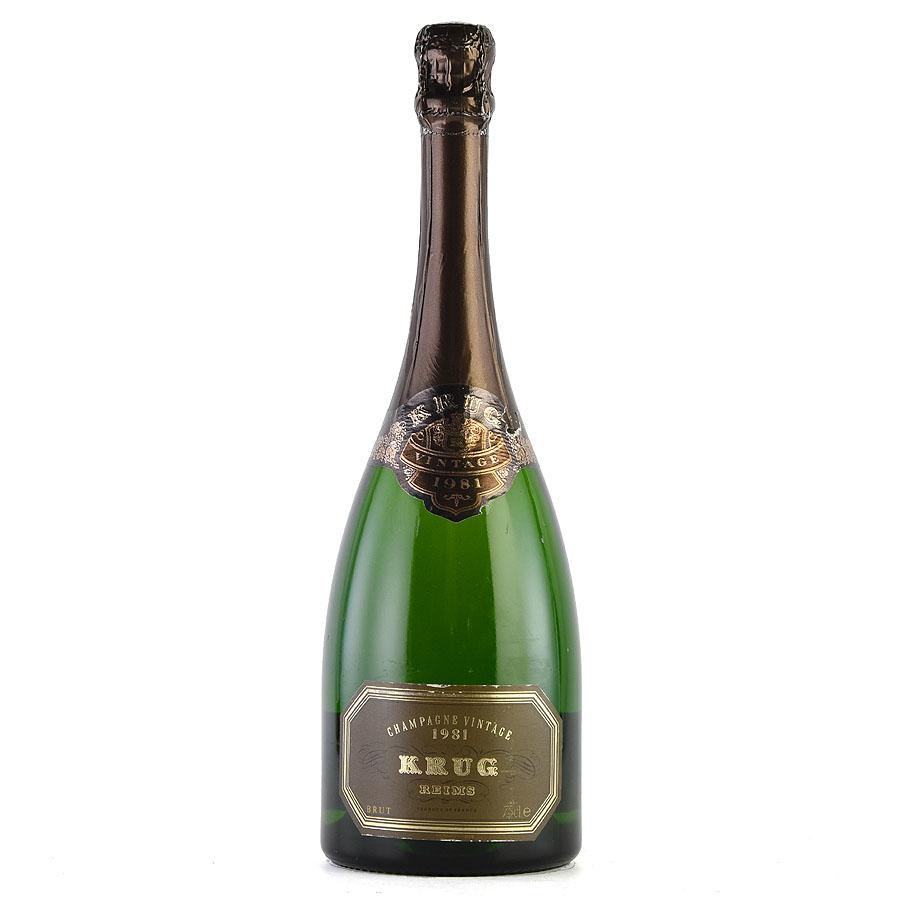 [1981] クリュッグ ヴィンテージフランス / シャンパーニュ / 発泡・シャンパン