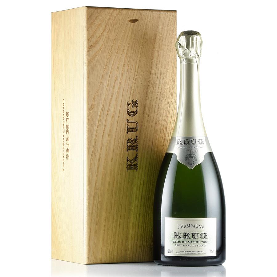 [2000] クリュッグ クロ・デュ・メニル オリジナル木箱フランス / シャンパーニュ / 発泡・シャンパン