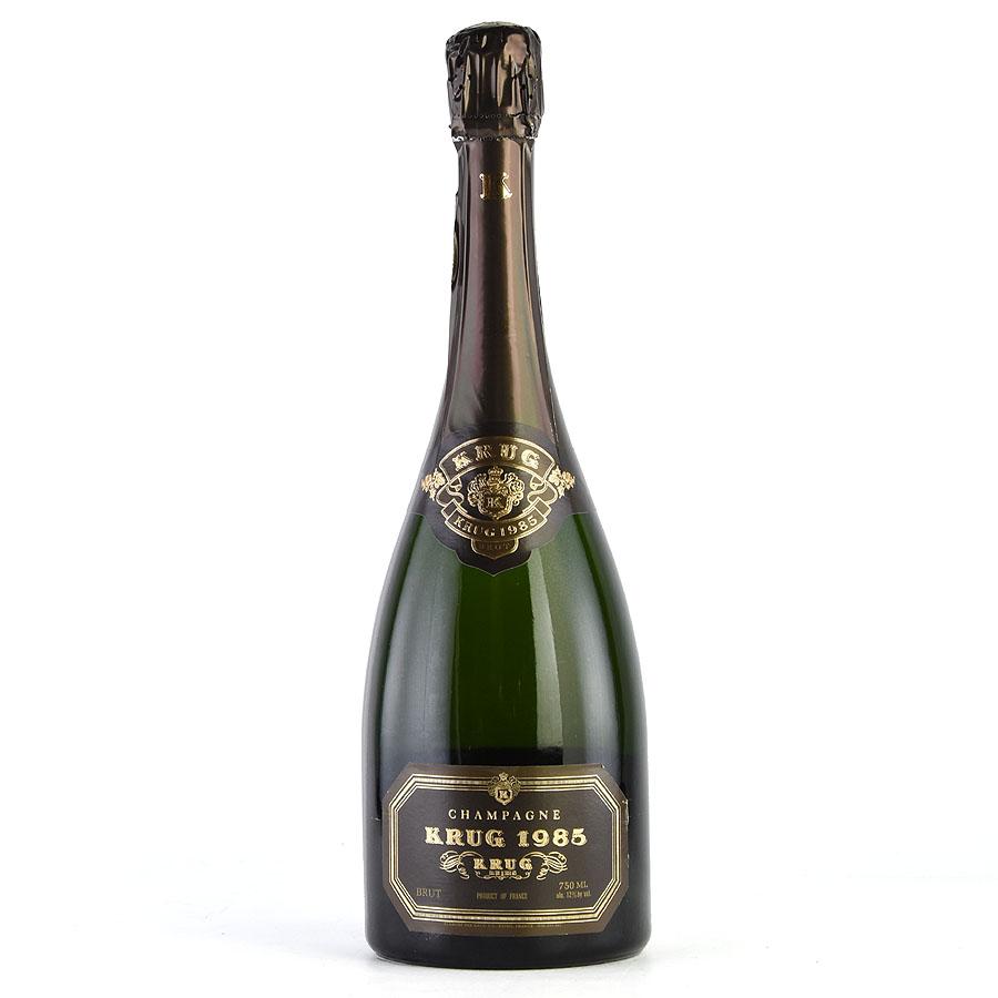 [1985] クリュッグ ヴィンテージ 【ラベルB】フランス / シャンパーニュ / 発泡・シャンパン