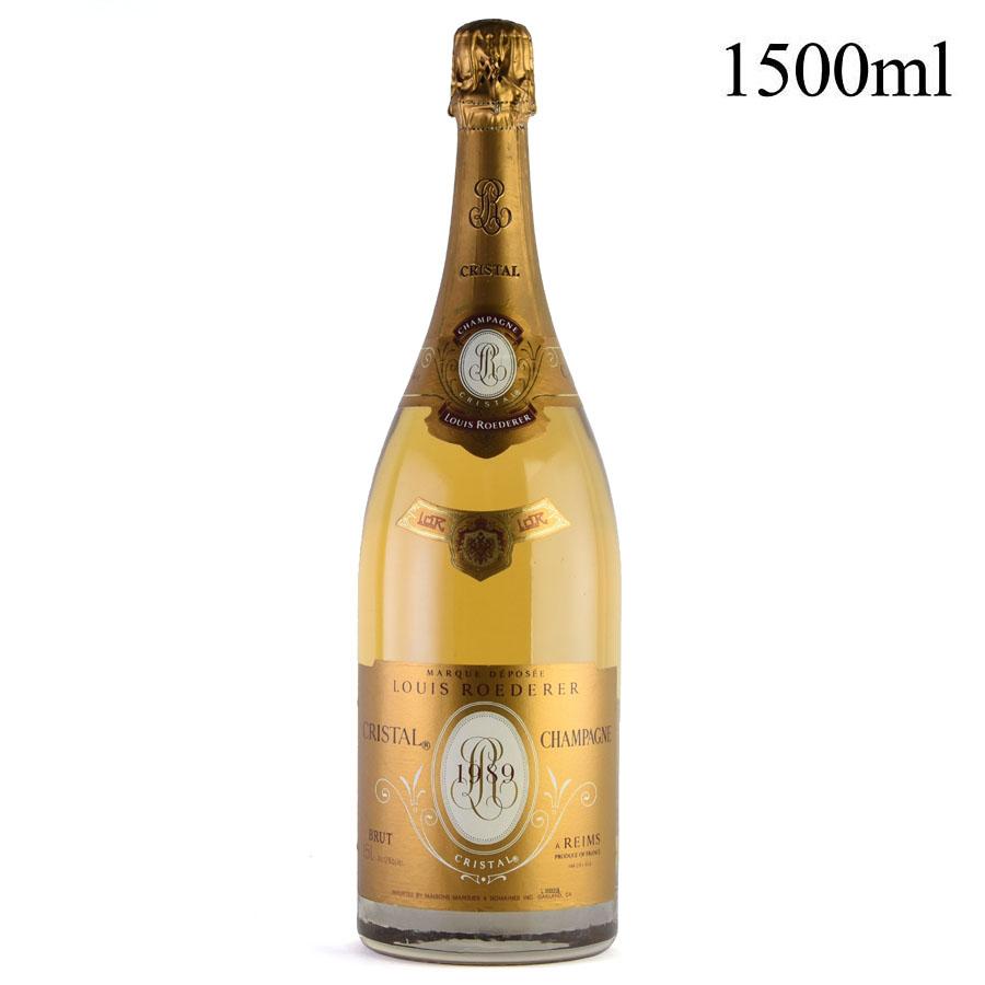 ルイ ロデレール クリスタル 1989 マグナム 1500ml ルイロデレール ルイ・ロデレール シャンパン シャンパーニュ