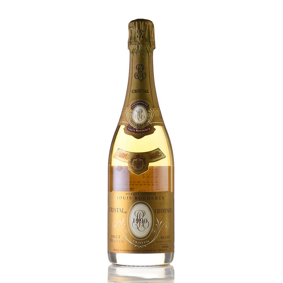 [1990] ルイ・ロデレール クリスタルフランス / シャンパーニュ / 発泡・シャンパン[のこり1本]
