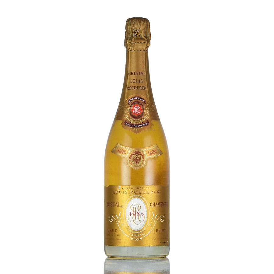 [1985] ルイ・ロデレールクリスタルフランス / シャンパーニュ / 発泡系・シャンパン[のこり1本]