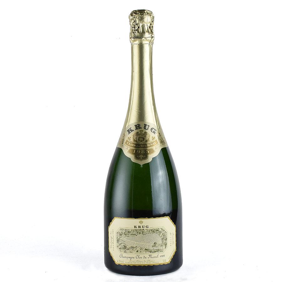 [1985] クリュッグ クロ・デュ・メニル 【箱なし】フランス / シャンパーニュ / 発泡・シャンパン