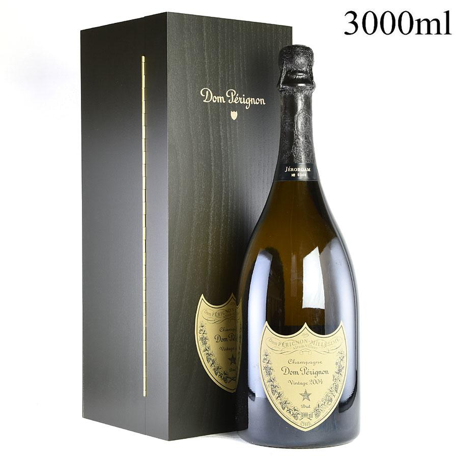 [2004] ドン・ペリニヨン ヴィンテージ ジェロボアム 3000ml 【木箱入り】フランス / シャンパーニュ / 発泡・シャンパン[のこり1本]