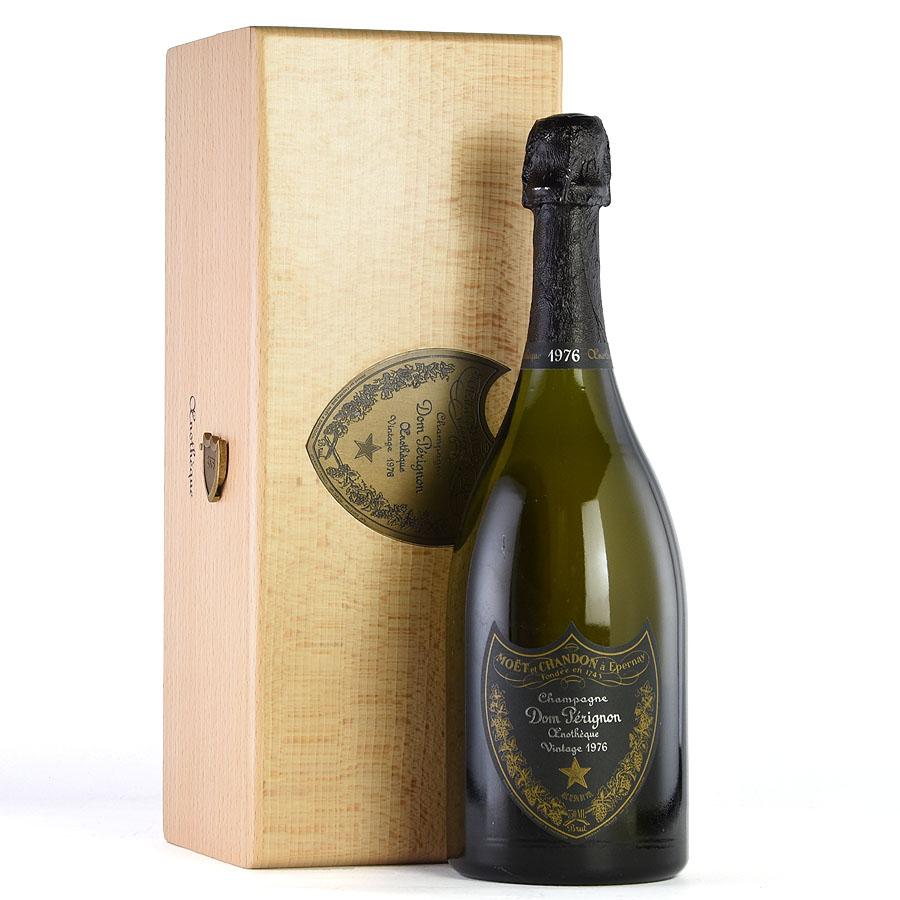 [1976] ドン・ペリニヨン エノテーク 【木箱入り】フランス / シャンパーニュ / 発泡系・シャンパン[のこり1本]