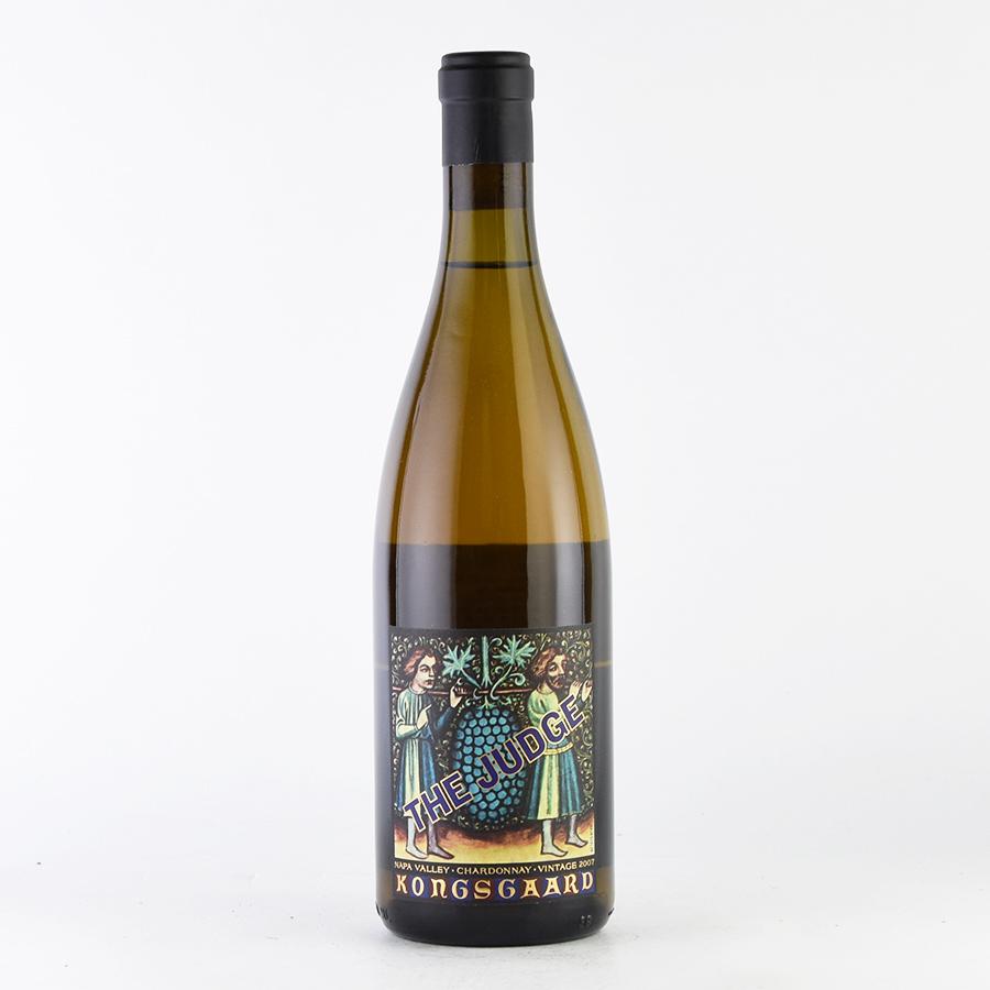 【新入荷★特別価格】[2007] コングスガードシャルドネ ザ・ジャッジアメリカ / カリフォルニア / 白ワイン