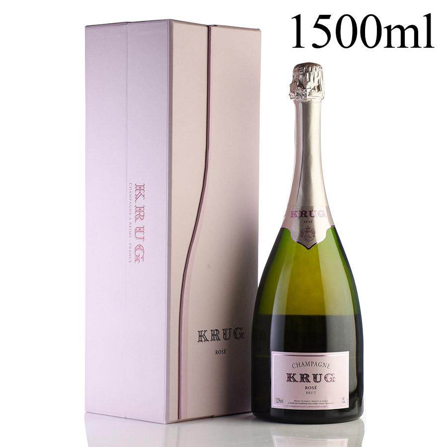 NV クリュッグ ロゼ マグナム 1500ml 【ギフトボックス】フランス / シャンパーニュ / 発泡・シャンパン