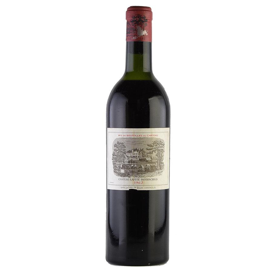 [1962] シャトー・ラフィット・ロートシルト ※ラベル汚れフランス / ボルドー / 赤ワイン[outlet]