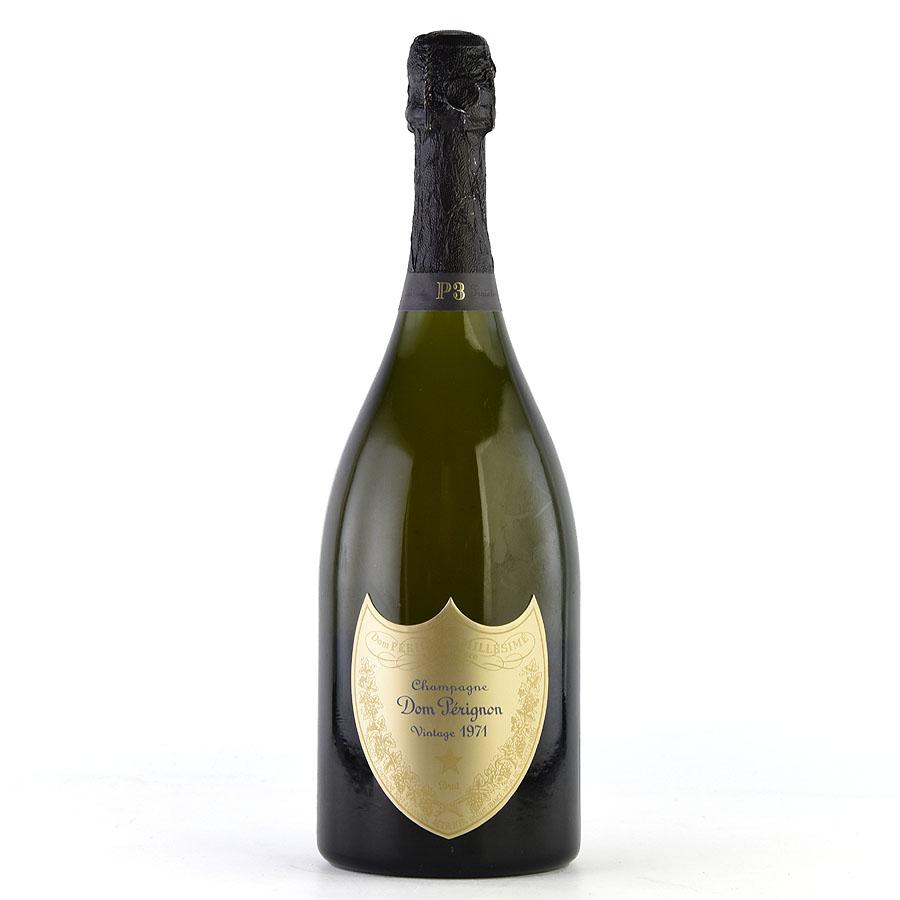 [1971] ドン・ペリニヨン P3 【箱なし】フランス / シャンパーニュ / 発泡系・シャンパン[のこり1本]