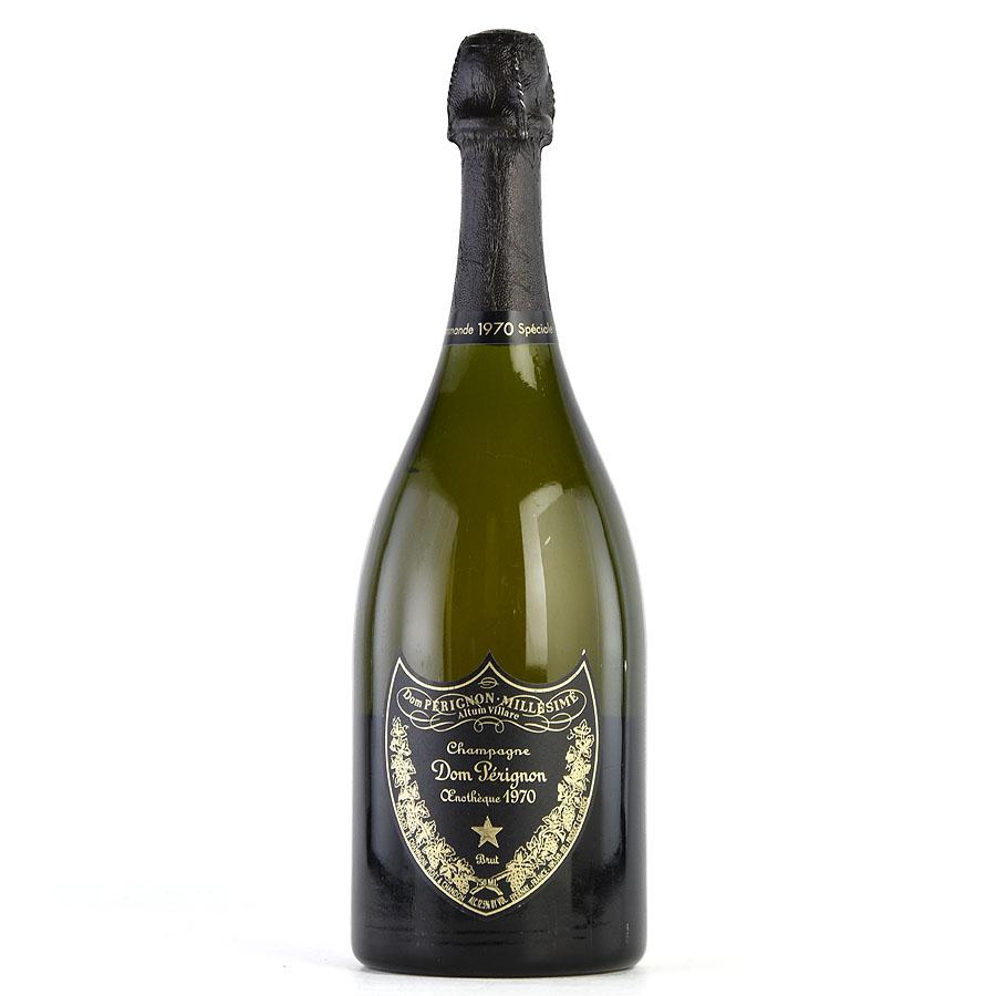 [1970] ドン・ペリニヨン エノテーク 【箱なし】フランス / シャンパーニュ / 発泡系・シャンパン[のこり1本]