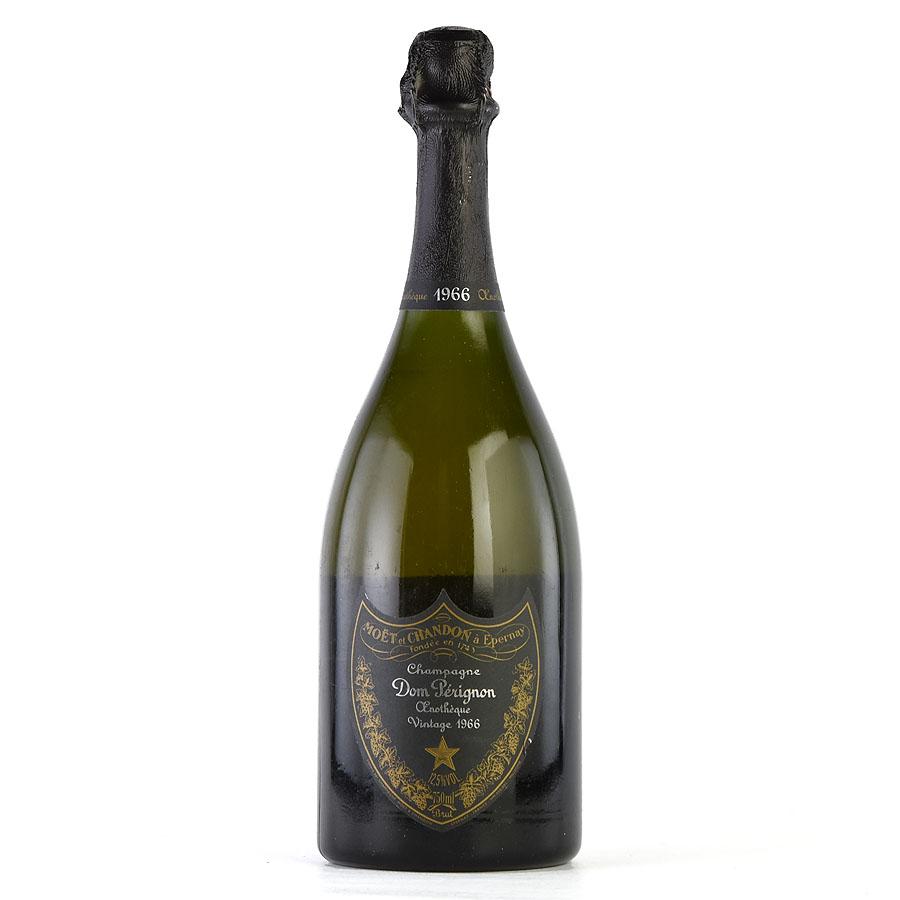 [1966] ドン・ペリニヨン エノテーク 【箱なし】 ※ボトルに汚れ・傷ありフランス / シャンパーニュ / 発泡系・シャンパン[のこり1本]