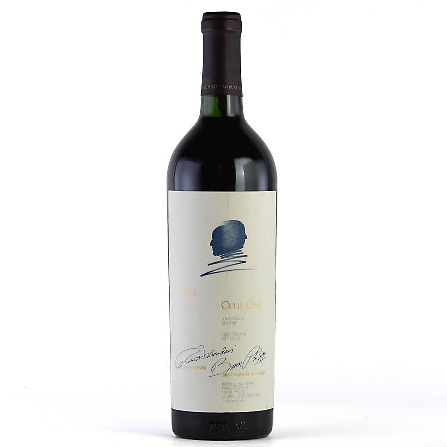 [1984] オーパス・ワン ※ラベル傷アメリカ / カリフォルニア / 赤ワイン[のこり1本]