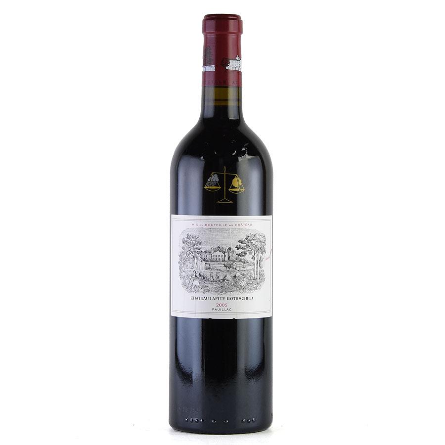 [2005] シャトー・ラフィット・ロートシルト ※ラベル汚れフランス / ボルドー / 赤ワイン[outlet][のこり1本]