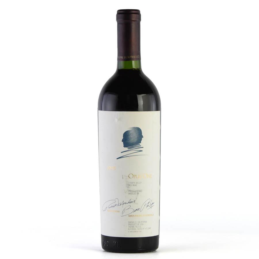 [1995] オーパス・ワン ※ラベル破れアメリカ / カリフォルニア / 赤ワイン[outlet][のこり1本]