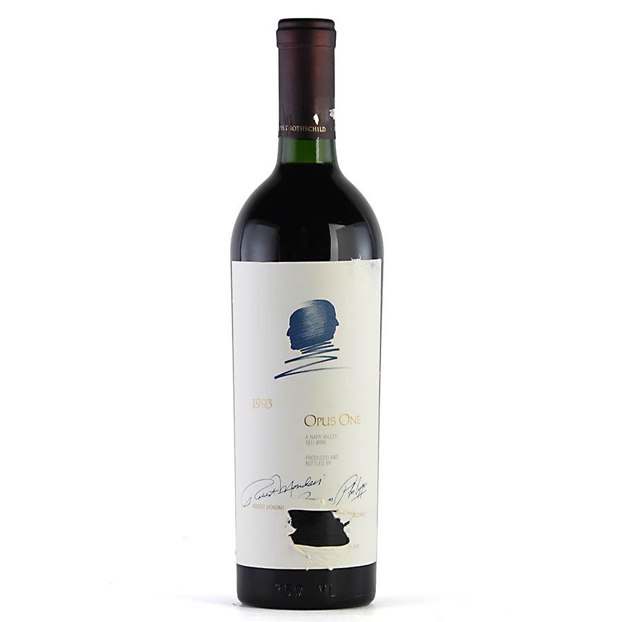 [1993] オーパス・ワン ※ラベル破れアメリカ / カリフォルニア / 赤ワイン[outlet]