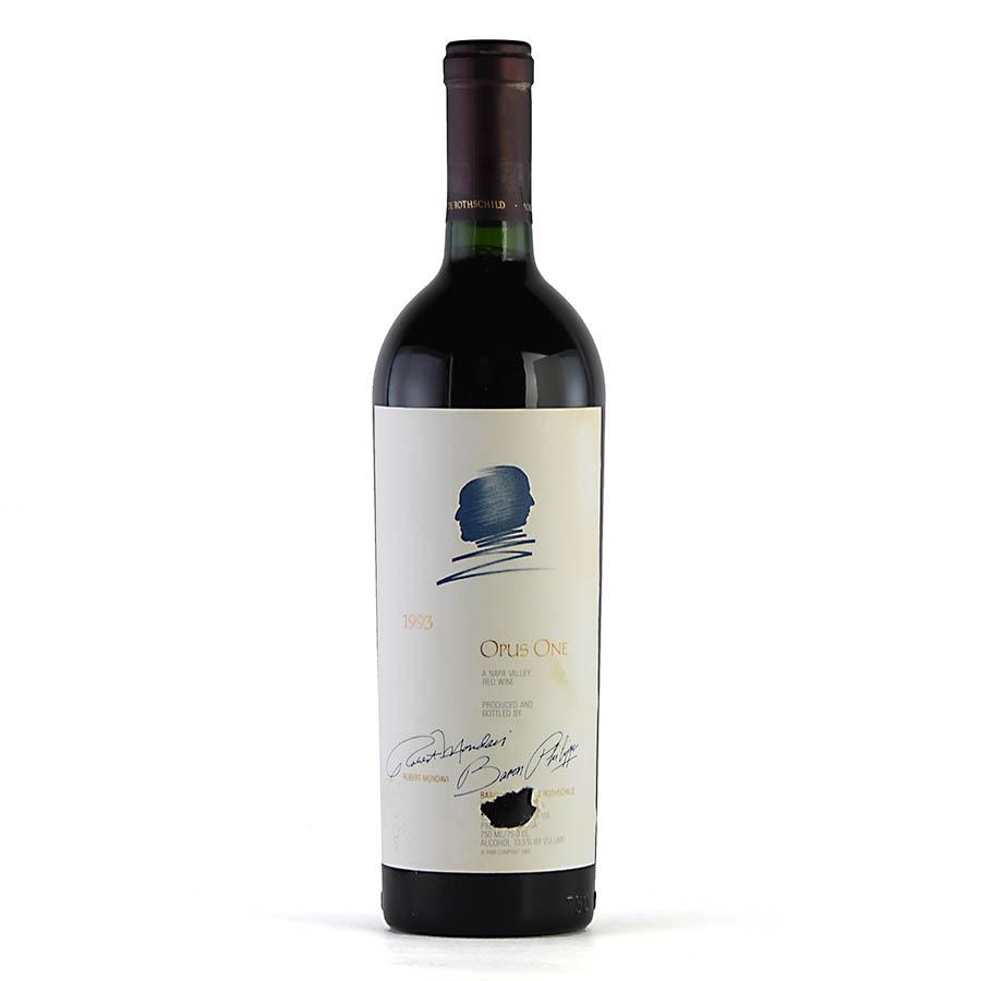 [1993] オーパス・ワン ※ラベル染み、破れアメリカ / カリフォルニア / 赤ワイン