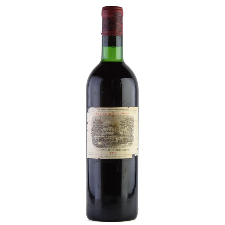 [1971] シャトー・ラフィット・ロートシルト ※ラベル破れ、汚れフランス / ボルドー / 赤ワイン[outlet][のこり1本]