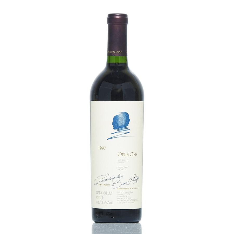 [1997] オーパス・ワンアメリカ / カリフォルニア / 赤ワイン[のこり1本]