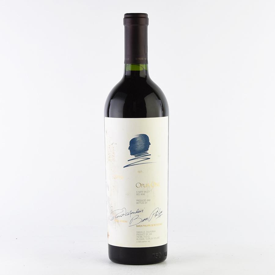 [1994] オーパス・ワン※ラベル不良アメリカ / カリフォルニア / 赤ワイン
