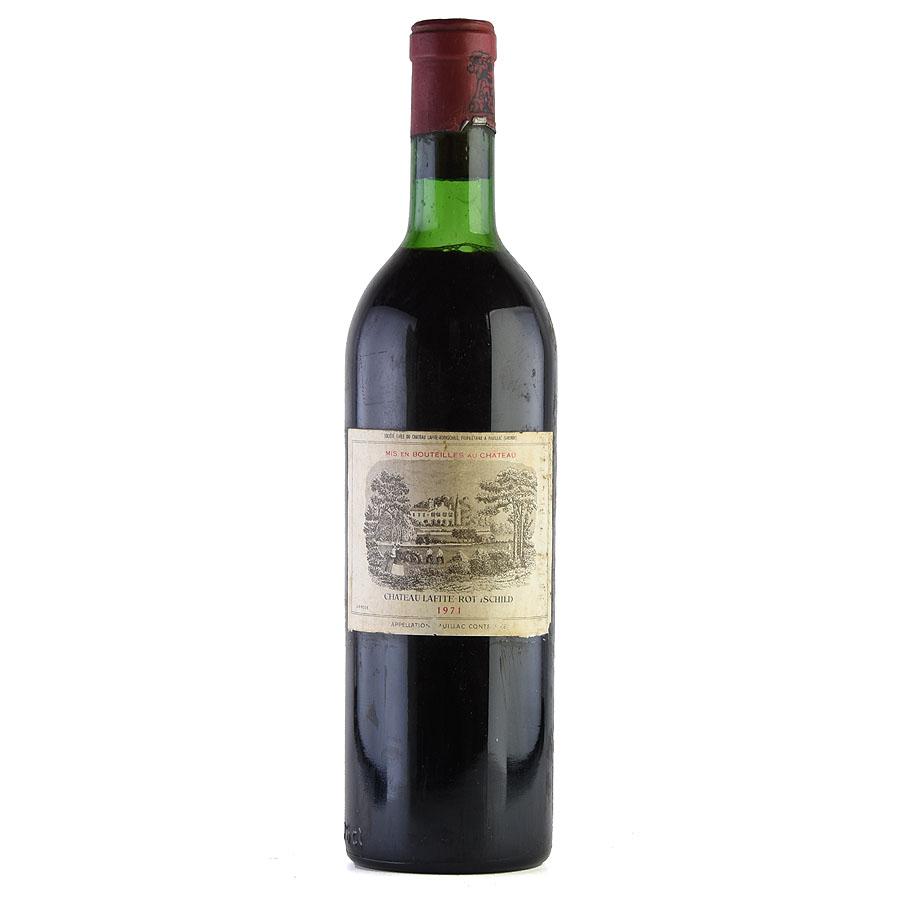[1971] シャトー・ラフィット・ロートシルト ※ラベル汚れフランス / ボルドー / 赤ワイン[outlet][のこり1本]
