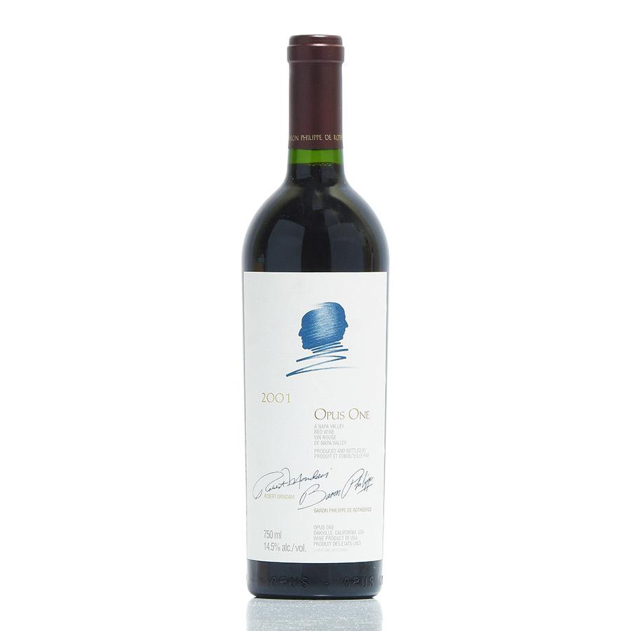 [2001] オーパス・ワンアメリカ / カリフォルニア / 赤ワイン[のこり1本]