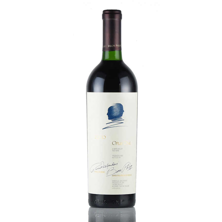 [2000] オーパス・ワンアメリカ / カリフォルニア / 赤ワイン[のこり1本]