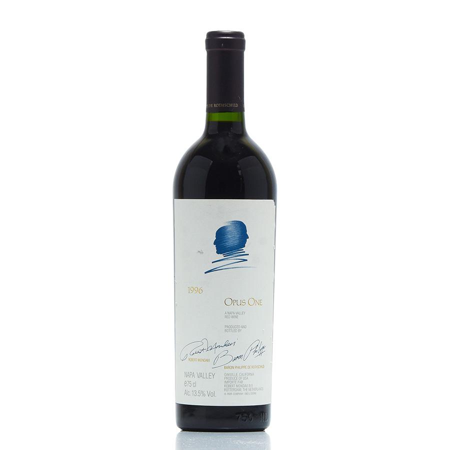 [1996] オーパス・ワン※ラベル不良アメリカ / カリフォルニア / 赤ワイン